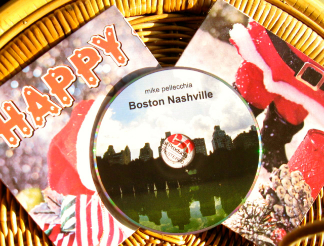 "Boston Nashville twofer ""Happy Santa"""