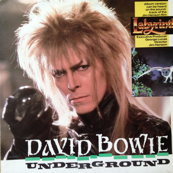 Underground, David Bowie from film Labyrinth