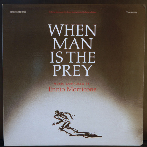Ennio Morricone / When Man is the Prey LP