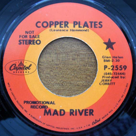 Copper Plates / Harfy Magnum -- Mad River