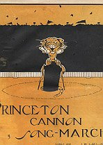 Princeton Cannon Song-March (Sheet music)