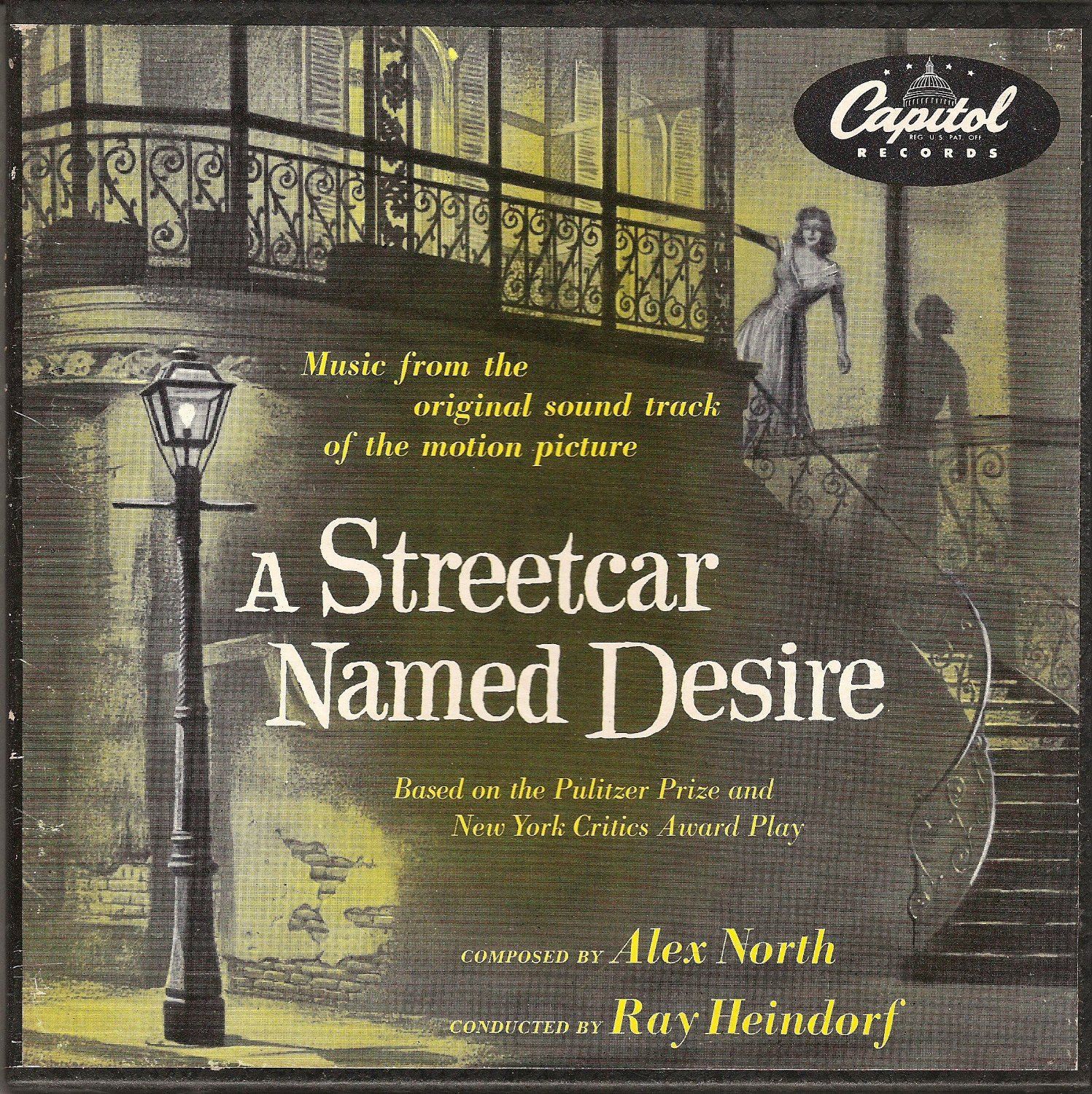 "A STREETCAR NAMED DESIRE - SOUNDTRACK - (4) 7"" 45 RPM BOX SET"